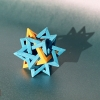 Five Intersecting Tetrahedra (Francis Ow)