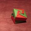 Kwadratowe pudełko (Tomoko Fuse)