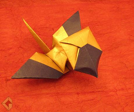 Homing Crane by Grzegorz Bubniak