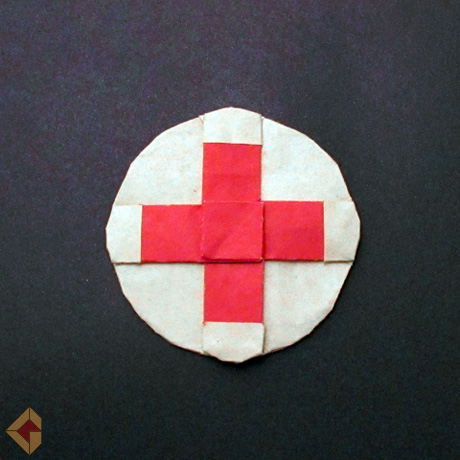 Red Cross Emblem by Grzegorz Bubniak
