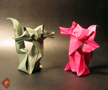 Cats designed by Roman Diaz and modified by Grzegorz Bubniak