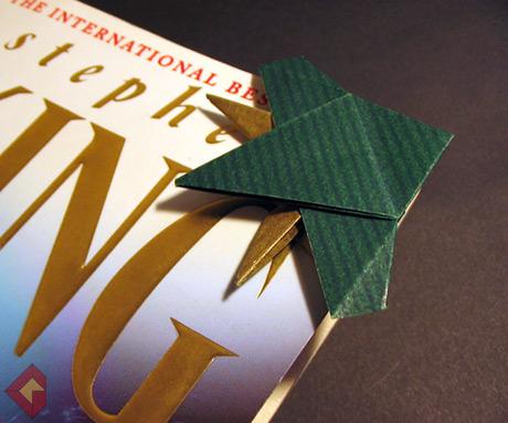 Elephant Bookmark designed and folded by Grzegorz Bubniak