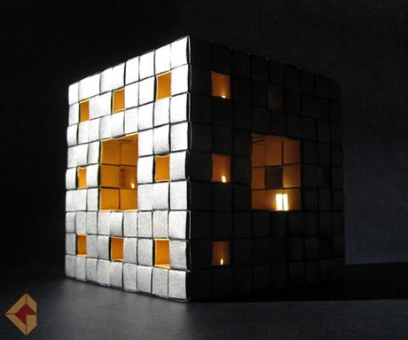 Menger Sponge folded by Grzegorz Bubniak